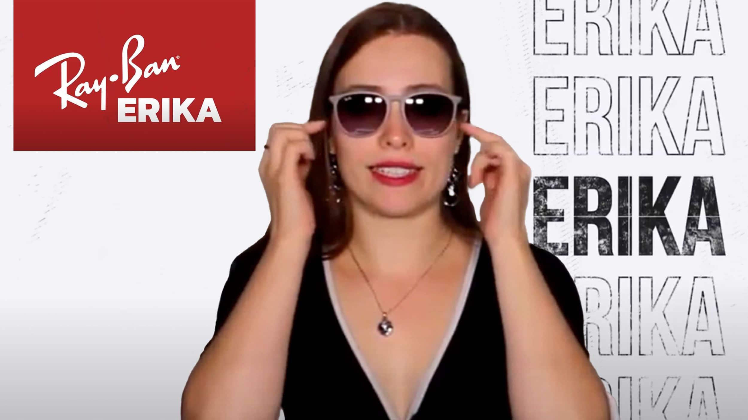 Ray Ban Erika Header