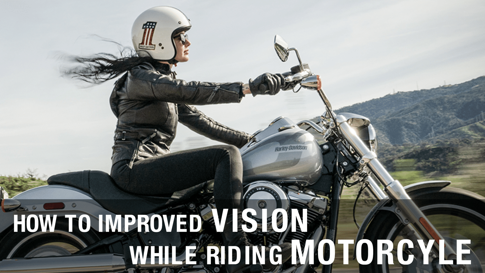 How to improve vision while riding a motorcycle header